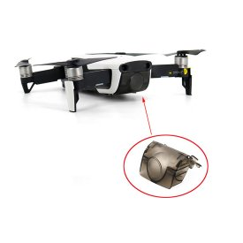 Lens Protective Cover Gimbal Camera Cover for DJI Mavic Air - Transparent Black