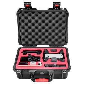 PGYTECH Safety Carrying Case Waterproof Hard EVA Foam Equipment Carrying FPV RC Parts for DJI Spark Camera Drone Accessories