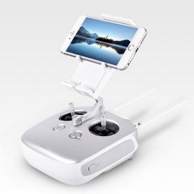 Universal Smartphone Tablet Extended Holder Clamp - Metal Bracket for DJI Phantom 4/3 Inspire 1 FLYSKY FS-I6S Remote Controller