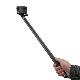 2.7m Selfie Stick Carbon Fiber Camera Handheld Extension Rod for DJI Osmo Action / OSMO POCKET / GoPro