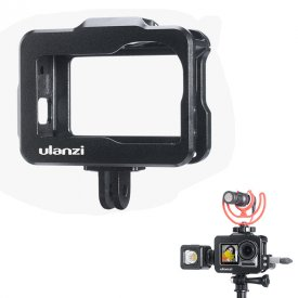 ULANZI Metal Rabbit Cage Sports Camera Protective Frame Housing Case Vlog Accessory for DJI Osmo Action
