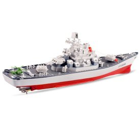 58cm 1:250 Military Battleship RC War Ship Toy
