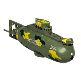 Mini Remote Control Submarine Mini RC Water Boat Toy Race Boat Model Ship 6 CH Electric Boat Toy