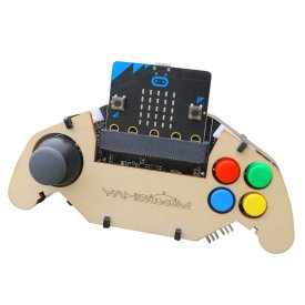 Micro:bit Gamepad Expansion Board Handle Microbit Robot Car Joystick STEM Toys Programming Game Controller (Without Micro:bit Board)