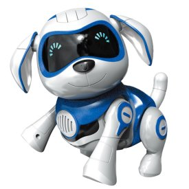 Children Electronic Toys Intelligent Early Education Locke Robot Dog with Music Touch Sensitive Automatically Avoid Obstacles Function