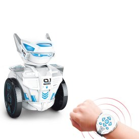 2.4G Watch RC Robot Dacing Singing Robot with Cool LED
