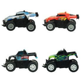 Creative Toy Mini Off-road Vehicle 4 Channels RC Car Toys for Kids - Color Random