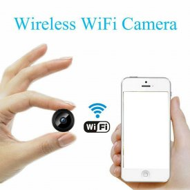 HD 1080P Night Vision IP Security Camcorder Mini Wireless Wifi Spy Camera