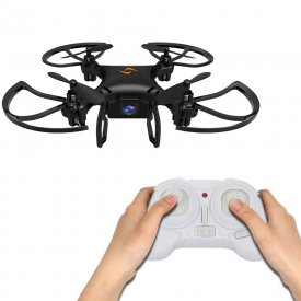 2.4G Remote Control Mini Drone 360° Rolling One-key Return Drone Without Camera - Ordinary Version Black