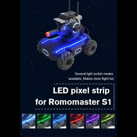 Waterproof Glow LED Pixel Strip for DJI RoboMaster S1 - Colorful