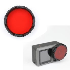 Camera Lens Diving Filter for DJI OSMO ACTION - Red
