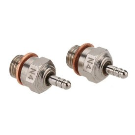 2Pcs 70117 N4 Glow Plug Spark Plug for 1/10 HSP RC Car