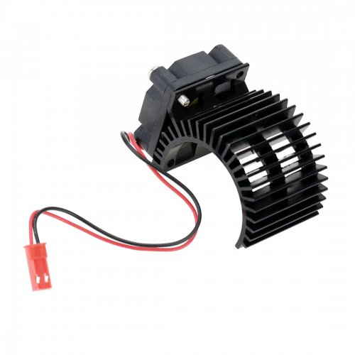 7014H Motor Heat Sink with Cooling Fan for 1/10 HSP RC Car 540/550 3650 Motor