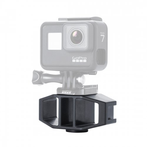 Vlog Holder Bracket with 2 Cold Shoe Interfaces for DJI OSMO Action / Gopro
