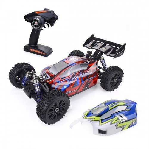 ZD Racing Pirates3 BX-8E 1/8 4WD 90km/H High Speed Racing RC Car Electric Off-road Vehicle Model - Red
