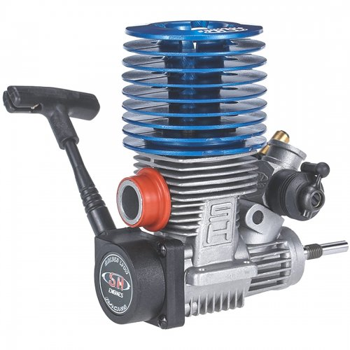 28000rpm 3.48cc 2.1HP Power Model Methanol Engine for 1:8 Car Model