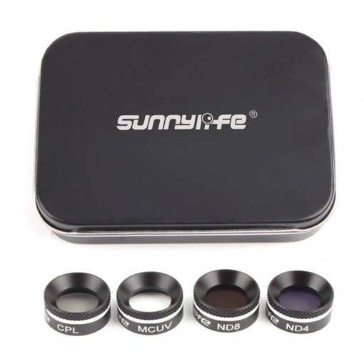 Sunnylife 4Pcs MCUV CPL ND4 ND8 Filter Set Multifunctional Filter for DJI Mavic Air - MCUV CPL ND4 ND8