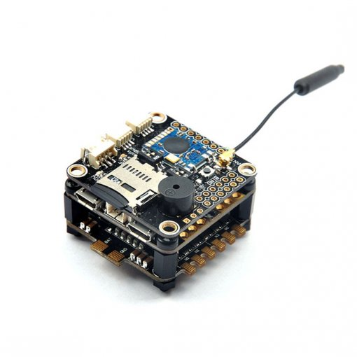 RacerCube Integrated F3 EVO Flight Controller 4in1 Littlebee F396 MCU 20A ESC Frsky 8CH PPM/SBUS Receiver MWOSD with PDB for FPV