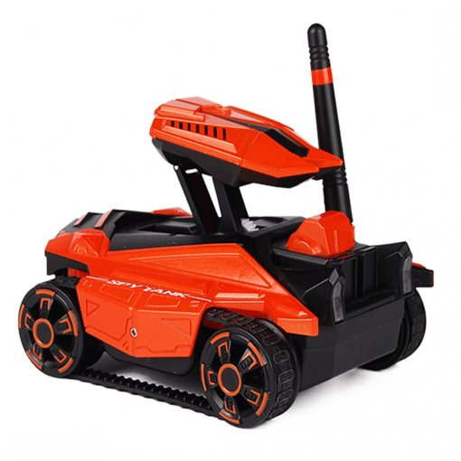 2.4G RC Spy Tank Robot with Real-time Image Transmission HD Camera