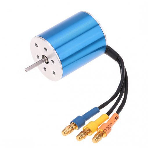 2430 7200KV Sensorless Brushless Motor for 1:16 1:18 RC Model Car