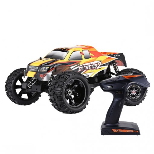 ZD Racing 9116 V3 1/8 2.4G 4WD Brushless Motor RC Car Monster Off-road Truck - RTR Version Orange