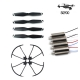 Original Parts with 1Set Blades/1Set Protective Ring and 2Pairs Motor for SG900 Optical Flow Foldable High Set Quadcopter Drone