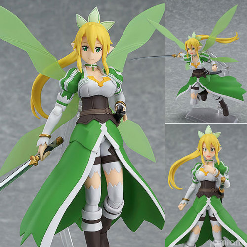NEW hot 14cm Sword Art Online Leafa Kirigaya Suguha movable action figure toys collection Christmas gift doll with box