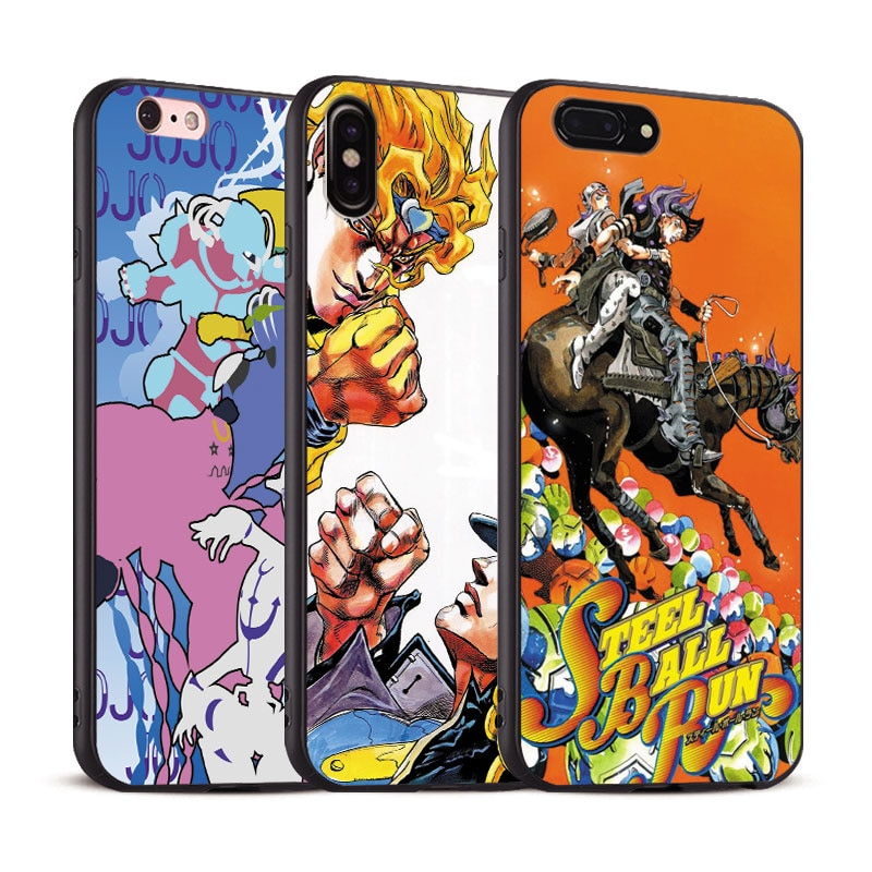 JoJo's Bizarre Adventure JoJo Anime Coque TPU Soft Silicone Phone ...