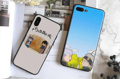 Black Clover Asta yuno Noelle anime Soft Silicone Phone Case Cover For Apple iPhone 5 5s Se 6 6s 7 8 Plus X XR XS MAX