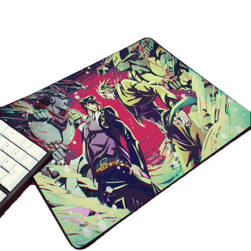 Hot Animation Product Pc Computer Gaming Mousepad JoJo's Bizarre Adventure Pattern Printed  Mouse Pad for Jojo Fans