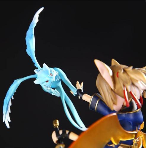 Anime Figure 20CM Sword Art Online II Silica ALO ver. Funny Knights Ayano Keiko 1/8 PVC Figure Toy Model Collectible