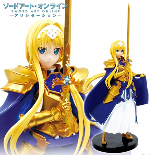 Original Taito Action Figure Sword Art Online Alicization Asuna Alice Integrity Knight PVC Figure Model Toys SAO Figurine
