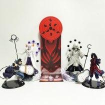 Naruto Action Figure Obito Madara PVC Model Toy Figurine Nartuo Shippuden Anime Madara Moon Plan Base Collection Toy Diorama