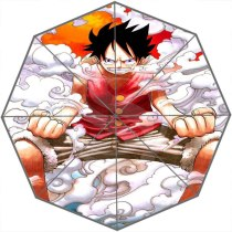 Hot Sale Cool Japanese anime one piece Adults Universal Design Fashion Foldable Sun and Rain Umbrella Free Shipping SQ0602-ON631