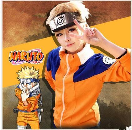 Anime Naruto Cosplay Costume  Uzumaki Cosplay 1 Generation 1nd Full Set Clothes