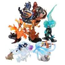Anime Naruto Action Figure Zero Relation Uchiha Itachi Fire Sasuke Susanoo Kakashi Uchiha Collection Model Toy