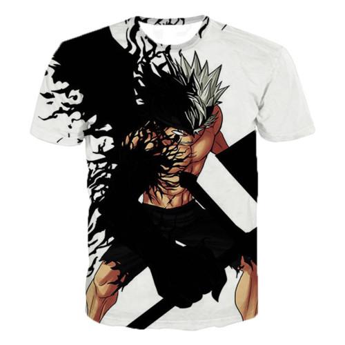 Latest Harajuku Style T Shirt Men/women Anime Black Clover 3D Printed T-shirts Casual Hip Hop Tshirt Streetwear Summer Tops
