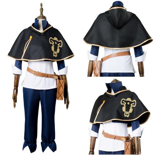 Anime Black Clover Cosplay Costume Bull Asta Cosplay Costume Full Set Halloween Carnival Costumes