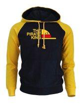 THE PIRATE KING Streetwear Hoodies For Men 2018 Autumn Winter Fleece Sweatshirt ONE PIECE Anime Harajuku Men's Hoodie Pullover