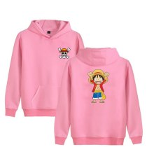 One Piece Monkey D Luffy Fashion Hoodies Anime New Arrival Cotton Sweatshirt Harajuku Brand Clothing Hip Hop Moleton Masculino