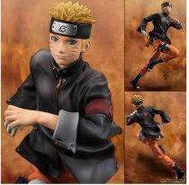 One Piece Anime Naruto Uzumaki Naruto PVC Action Figure 22cm Big Size Uzumaki Model Dolls Collection Educational Toys opp bag