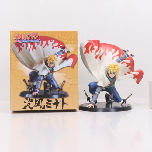 Naruto Shippuden Namikaze Minato PVC Figure Collectible Model Toy 14cm