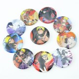 10Pcs/Set Japan Anime NARUTO Pins Badges Brooch Chest Ornament Of the Clothing Accessoies Collection Cosplay Gift Mew