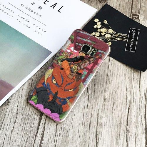 Naruto Uzumaki Coque Phone Case Cover Shell For Samsung Galaxy S4 S5 S6 S7 Edge S8 Plus Note 8 2 3 4 5 A5 A7 J5 2016 J7 2017