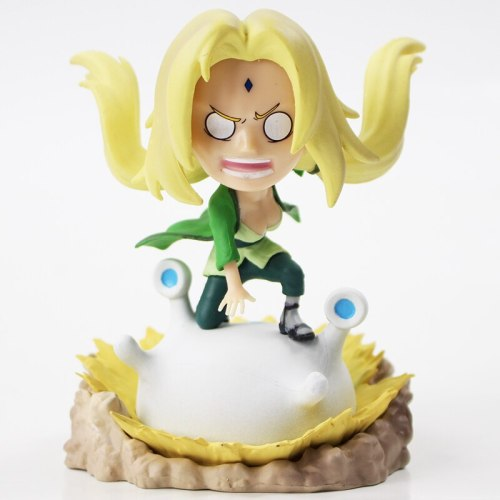 Naruto Shippuden Figures Jiraiya Tsunade Orochimaru Model Toys Anime Birthday Gift for Children