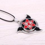 Japan Anime Naruto Necklace Shadow Kakashi Mask figure Symbol Cosplay Pendants Jewelery Fashion Hollow gift for women Necklaces