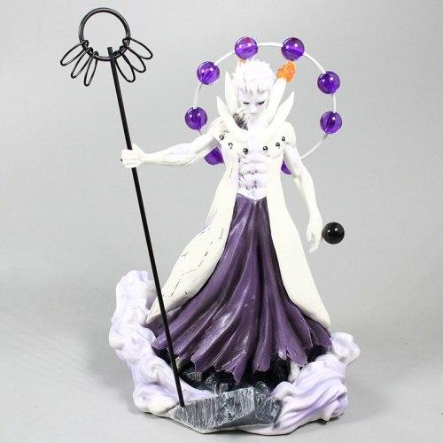 7'' Naruto Akatsuki Uchiha Obito figurine Madara Six Realms Ten-tailed force PVC Action Figure Collectible Model Toy