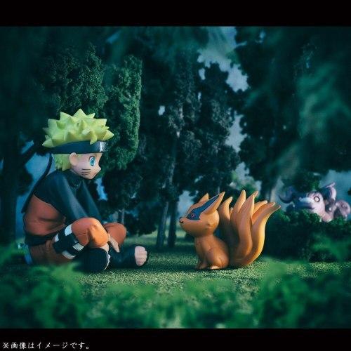 11Pcs/set Naruto Action figure PVC Toys Baby Bijuu Kyuubi Kurama Collection Model Toys