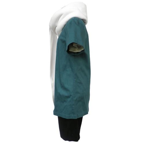 Anime Naruto cosplay Akimichi choji Cosplay Costumes  White Soft Scarf Headband bandage wig set