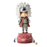 Naruto Shippuden Figure Toy Nendoroid 886 Jiraiya Gama Bunta Ero Sennin Collectible Model Doll